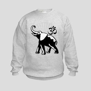 BW Ganesh Aum Kids Sweatshirt
