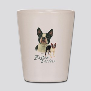 Boston Terrier-2 Shot Glass
