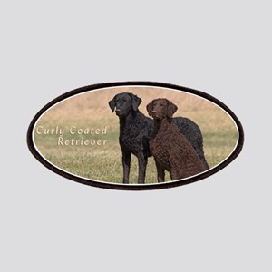 Curly Coated Retriever-5 Patches