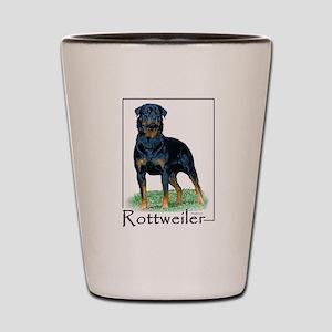 Rottweiler-1 Shot Glass
