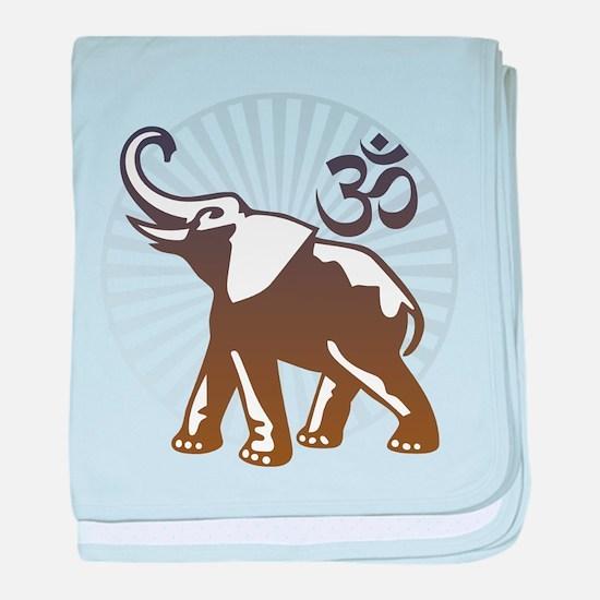 Ganesh Aum baby blanket