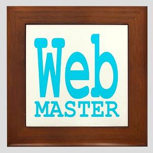 Web Masters Framed Tile