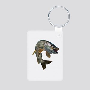 musky 4 Aluminum Photo Keychain