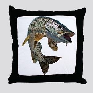 musky 4 Throw Pillow