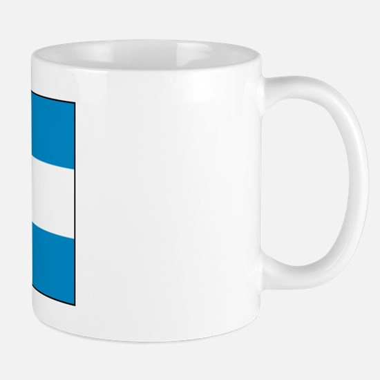 Honduras Honduran Blank Flag Mug