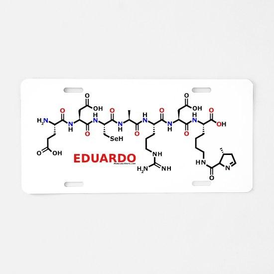 Eduardo molecularshirts.com Aluminum License Plate