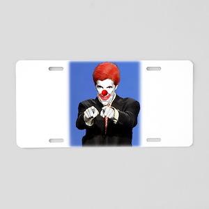 Clown Kerry Aluminum License Plate