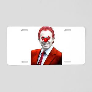 Clown Blair Aluminum License Plate