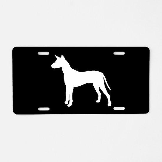 Xolo SILHOUETTE Aluminum License Plate
