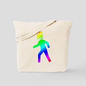 DUBSTEP Blockhead Tote Bag