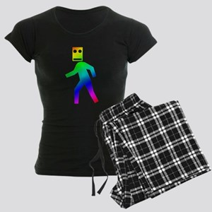 DUBSTEP Blockhead Women's Dark Pajamas