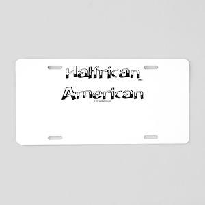 Halfrican Aluminum License Plate