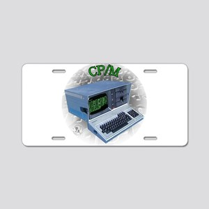 CP/M OS Aluminum License Plate