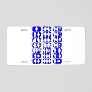 Sexual Experiences Aluminum License Plate