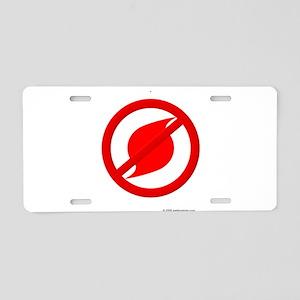 No more Hurricanes Aluminum License Plate