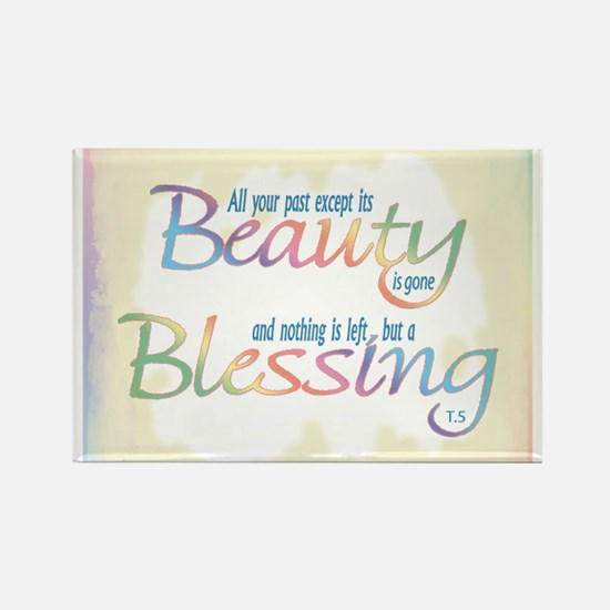 ACIM-Beauty & Blessing Rectangle Magnet