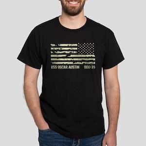 USS Oscar Austin Dark T-Shirt