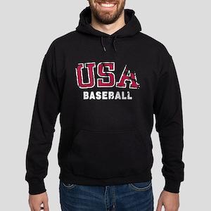 USA Baseball Team Hoodie (dark)