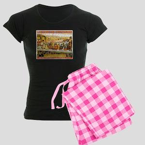 Peerless Prodigies Women's Dark Pajamas
