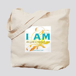 ACIM-I Am As God Created Me Tote Bag