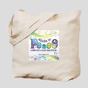 ACIM-Abide in Peace Tote Bag