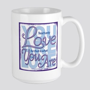 ACIM-You Are Love Large Mug