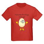 Nanotechnology Huge Kids Dark T-Shirt
