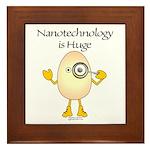 Nanotechnology Huge Framed Tile