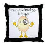 Nanotechnology Huge Throw Pillow