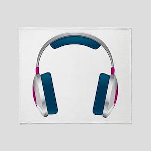 headphone Throw Blanket
