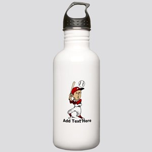 Personalized cute cartoon bas Stainless Water Bott