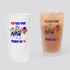 CAT-CH THE SPIRIT OF 76™ Drinking Glass
