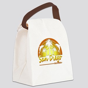 San Diego, California Canvas Lunch Bag