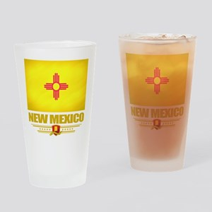New Mexico Pride Drinking Glass