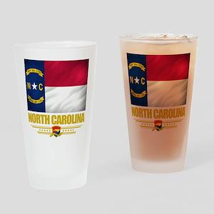 North Carolina Pride Drinking Glass