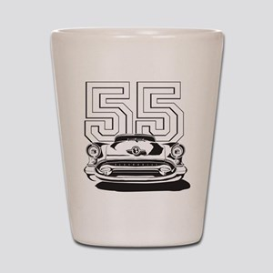 '55 Olds Shot Glass
