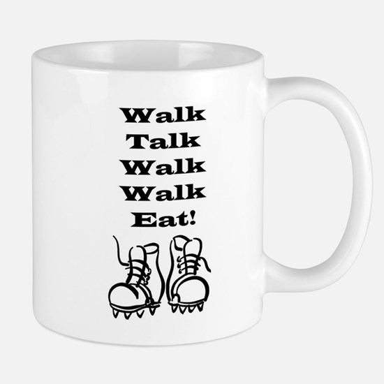 New Walk, Talk, Eat Mug
