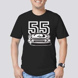 '55 Olds Men's Fitted T-Shirt (dark)