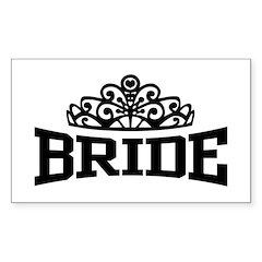 Bride Sticker (Rectangle)