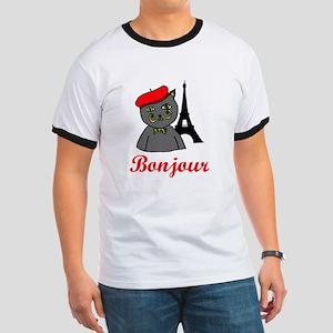Bonjour Paris Ringer T