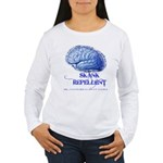 Skank Repel Women's Long Sleeve T-Shirt