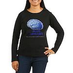 Skank Repel Women's Long Sleeve Dark T-Shirt