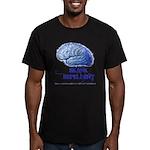 Skank Repel Men's Fitted T-Shirt (dark)