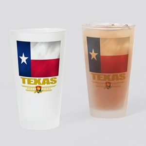 Texas Pride Drinking Glass