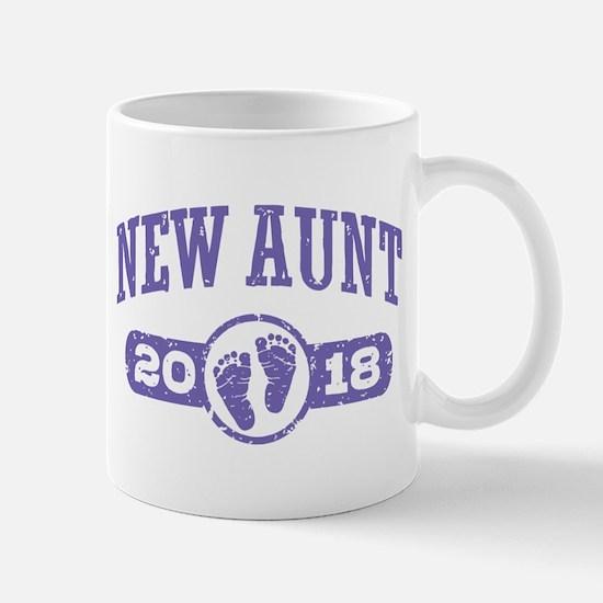 New Aunt 2018 Mug