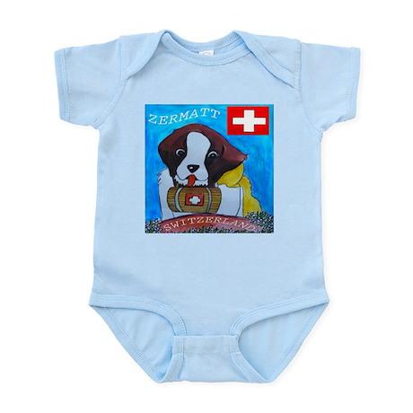 St Bernard Switzerland Infant Bodysuit