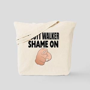 SHAME ON YOU Tote Bag