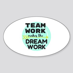 Team Work 1 Sticker