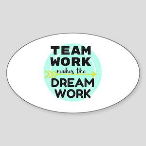 Team Work 1 Sticker