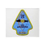 USS ARCHERFISH Throw Blanket